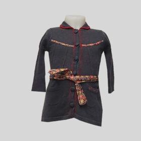 Robe Fille Kenzo Gris 6 Mois 68cm Ateapic Ch Declics Ethiques