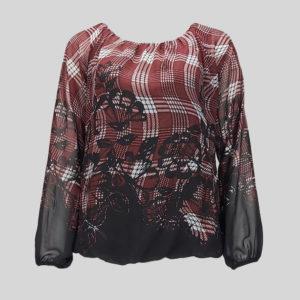 blouse-femme-nuna-lie-carreaux-et-motifs-de-seconde-main-de-face
